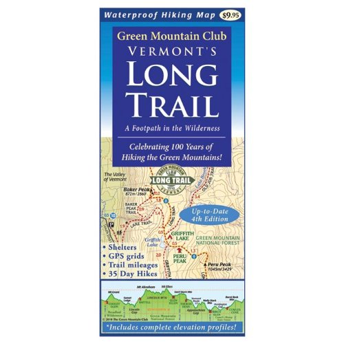 Mountain Green Vermont's Long Trail: Map pdf epub