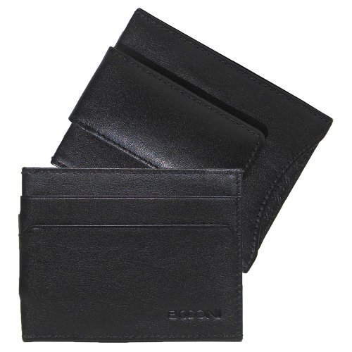 grant-rfid-magnetic-money-clip-credit-card-wallet-black-leather-with-gray