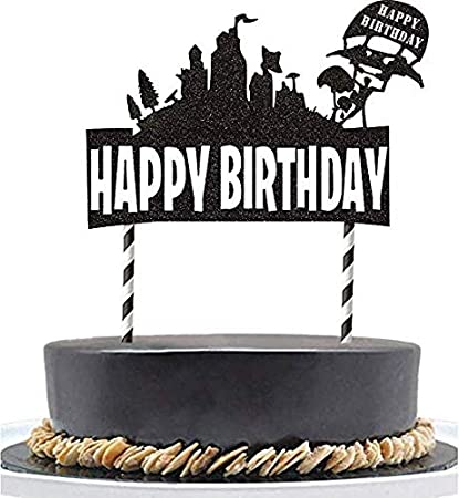 Amazon FunCake Birthday FN Cake Topper Decoration7 Inch For Party Supplies Toys Games
