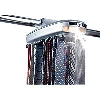 Smartek 1068 Tie Belt Motorized Rack Clouset Orginizer ST-72 Garment Wall Rack, Grey