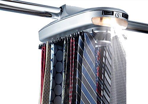 Revolving Tie and Belt Rack