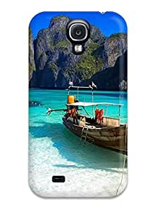 Anti-scratch And Shatterproof Thailand Holidays Beach Phi Phi Island Phone Case For Galaxy S4/ High Quality Tpu Case