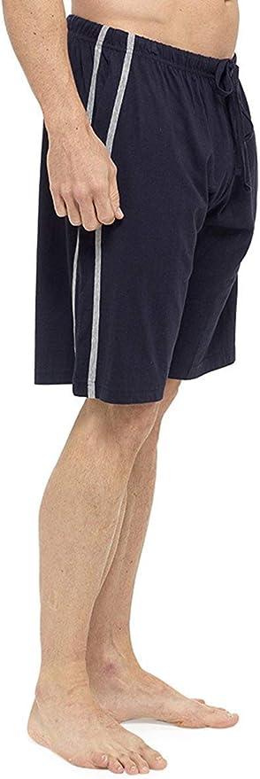 TALLA XXL. Tom Franks Pack Doble Algodón De Jersey Pantalones De Estar Por Casa