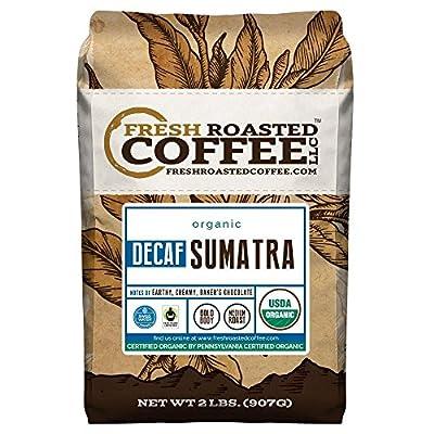 Sumatra Decaf Organic Fair Trade Coffee, Mountain Water Processed Decaf Coffee, Fresh Roasted Coffee LLC.