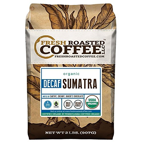 Organic Sumatra Swiss Water Decaf Coffee