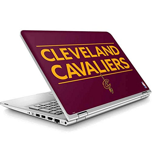 Skinit NBA Cleveland Cavaliers ENVY x360 15t-w200 Touch Convertible Laptop Skin - Cleveland Cavaliers Standard - Maroon Design - Ultra Thin, Lightweight Vinyl Decal Protection