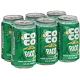 Coco Rico Coconut Soda (Pack of 6)