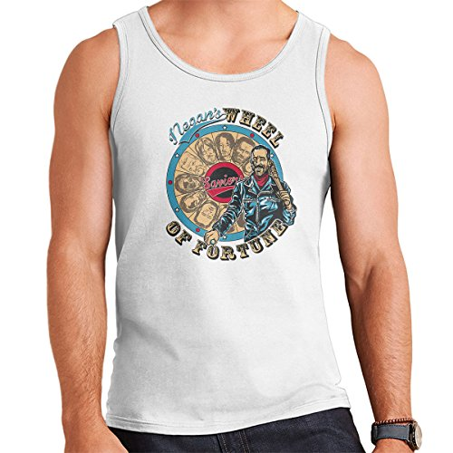 Negans Wheel of Fortune Walking Dead Men's Vest