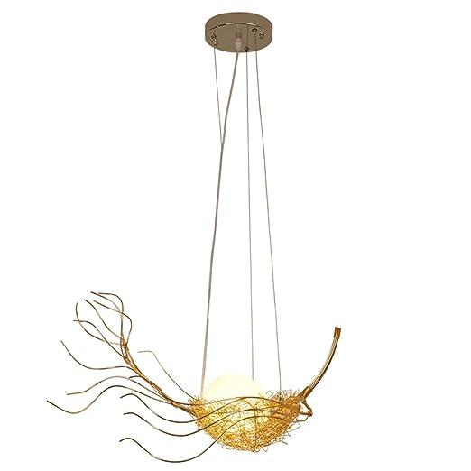 Lámparas de araña LED creativas, post-modernidad de hierro ...