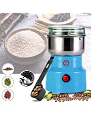 KZJIEZH Smash Machine, Multifunction Smash Machine Blender, Household Cereals Grain Seasonings Spices Machine Grinder, Ultra Fine Dry Food Grinder, for Coffee Beans, Herbs, Nuts, Spices, Grain Mill