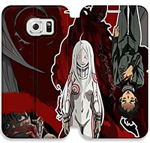 Premium Flip Ultra Slim Deadman Wonderland-1 iPhone Samsung Galaxy S6 Edge Leather Flip Case