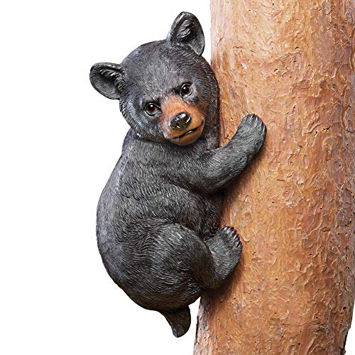 - Collections Etc Bear Tree Climber Decoration, Black