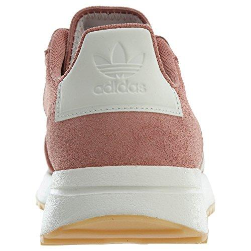 Adidas Originals Women's Flb W Sneaker, Raw Pink/White/Crystal White, 7 Medium US