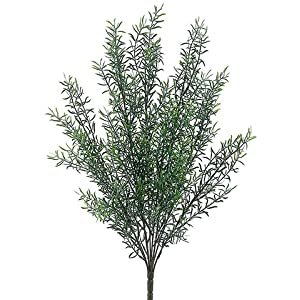 "21"" Plastic Rosemary Bush Green (pack of 12) 6"