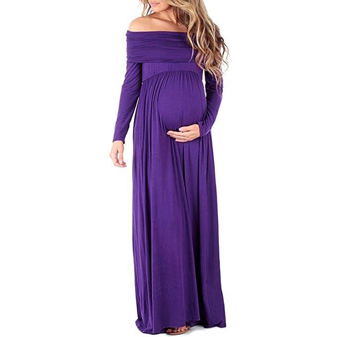 Vestidos de fiesta para embarazadas noche