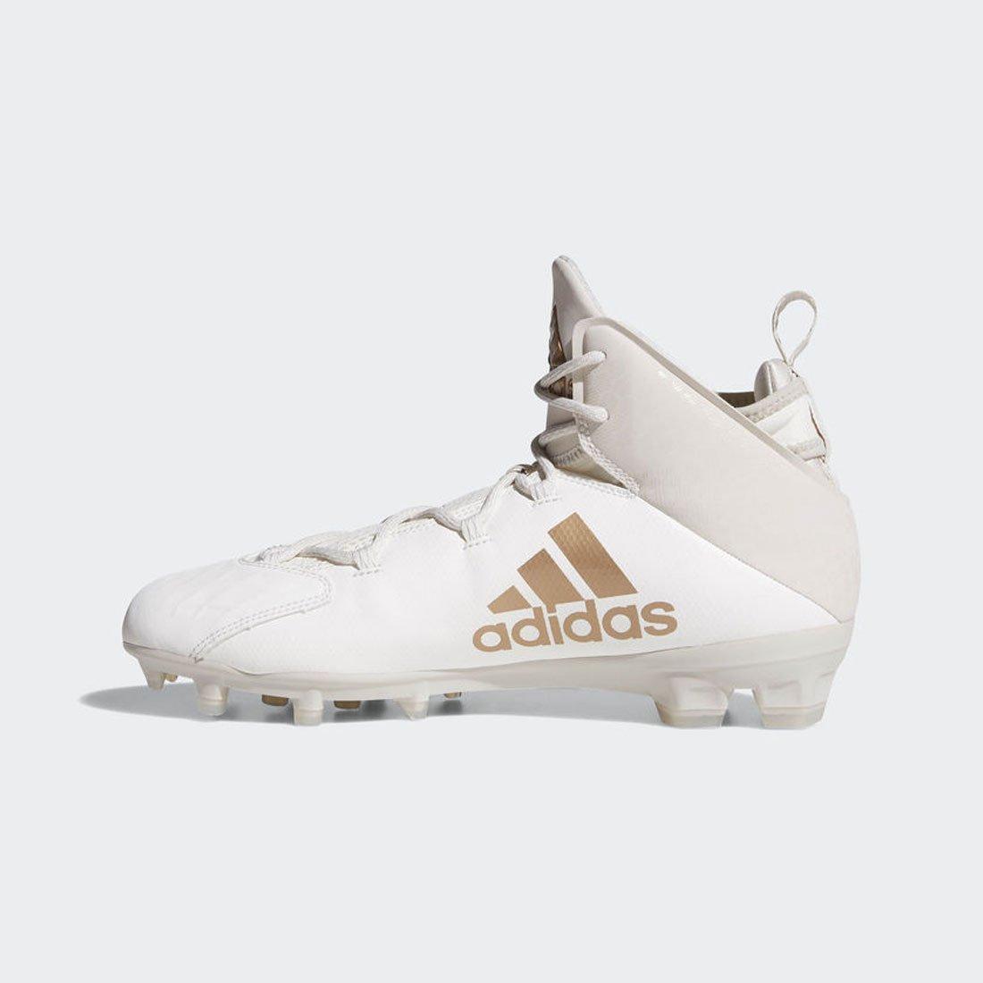 9cab381dc4d84 Amazon.com: Adidas Freak Lax Mid Lacrosse Cleats-Chalk/White-11.0 ...