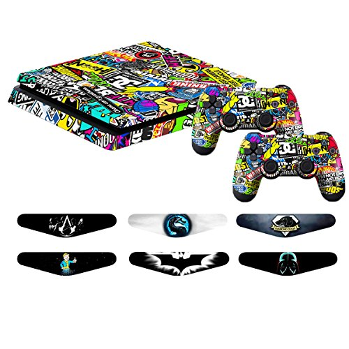 Sensible Skulls Xbox One S 7 Sticker Console Decal Xbox One Controller Vinyl Skin Promoting Health And Curing Diseases Video Game Accessories