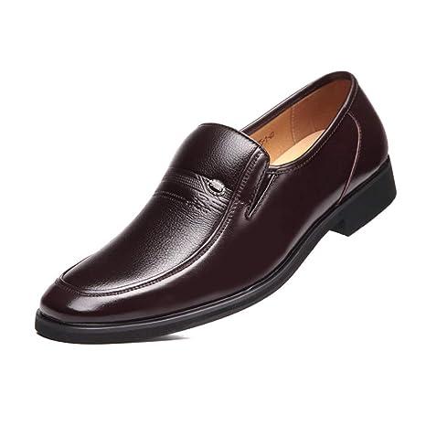 ChengxiO Zapatos de Traje Calzado Casual de Negocios Calzado ...