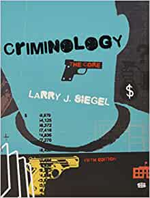 a summary of chapter 6 of the book criminology by larry j siegel The study of the perception of reality and of the mental processes required to understand the world in which we live freud believed that we all carry with us residue of the most significant emotional attachments of our childhood, which then guide future interpersonal relationships.