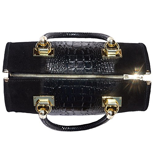 With Hardware Bowling 7002 Bag Black Golden wxnqnP6B5Y