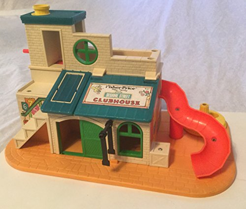 Vntage Fisher Price Sesame Street Clubhouse (Sesame Street Clubhouse)