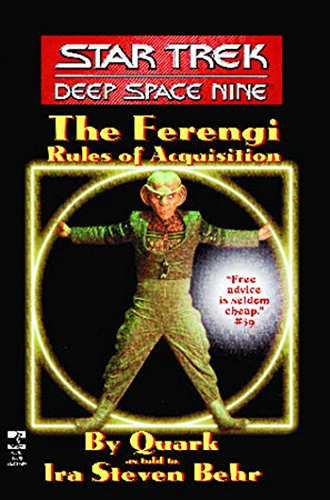 The Star Trek: Deep Space Nine: The Ferengi Rules of Acquisition (English Edition)