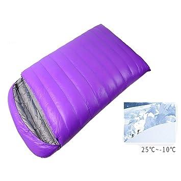 Envelope Sleeping Bag LIUSIYU Saco de Dormir Doble, Saco de ...