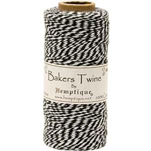 hemptique bakers twine hilo algodón baker s twine bobina 2 capas
