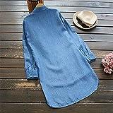 Blouse for Women Long Sleeve Kimloog Womens Button