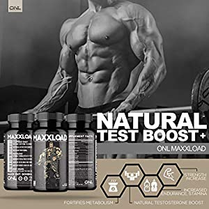 MAXXLOAD | Ultimate Male Pills (60 Capsules) - #1 Enlargement Booster for Men | Increase Energy, Mood, Size & Endurance | All Natural Performance Enhancing Supplement | 1 Month Supply natural male enhancing - 515h7M0JqpL - natural male enhancing