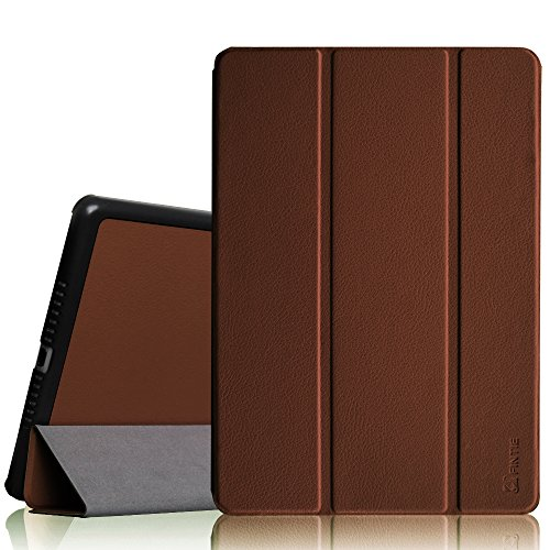 Fintie iPad Air Case - Ultra Slim Lightweight Stand Smart Cover with Auto Sleep/Wake Feature for Apple iPad Air (iPad 5) 2013 Model, Brown