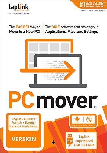Laplink PCmover Professional 11 | Verplaatst uw toepassingen, dossiers, en montages van een oude PC naar een nieuwe PC…