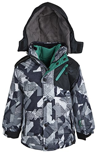 Big Chill Little Boys 3-in-1 System Winter Puffer Jacket ...