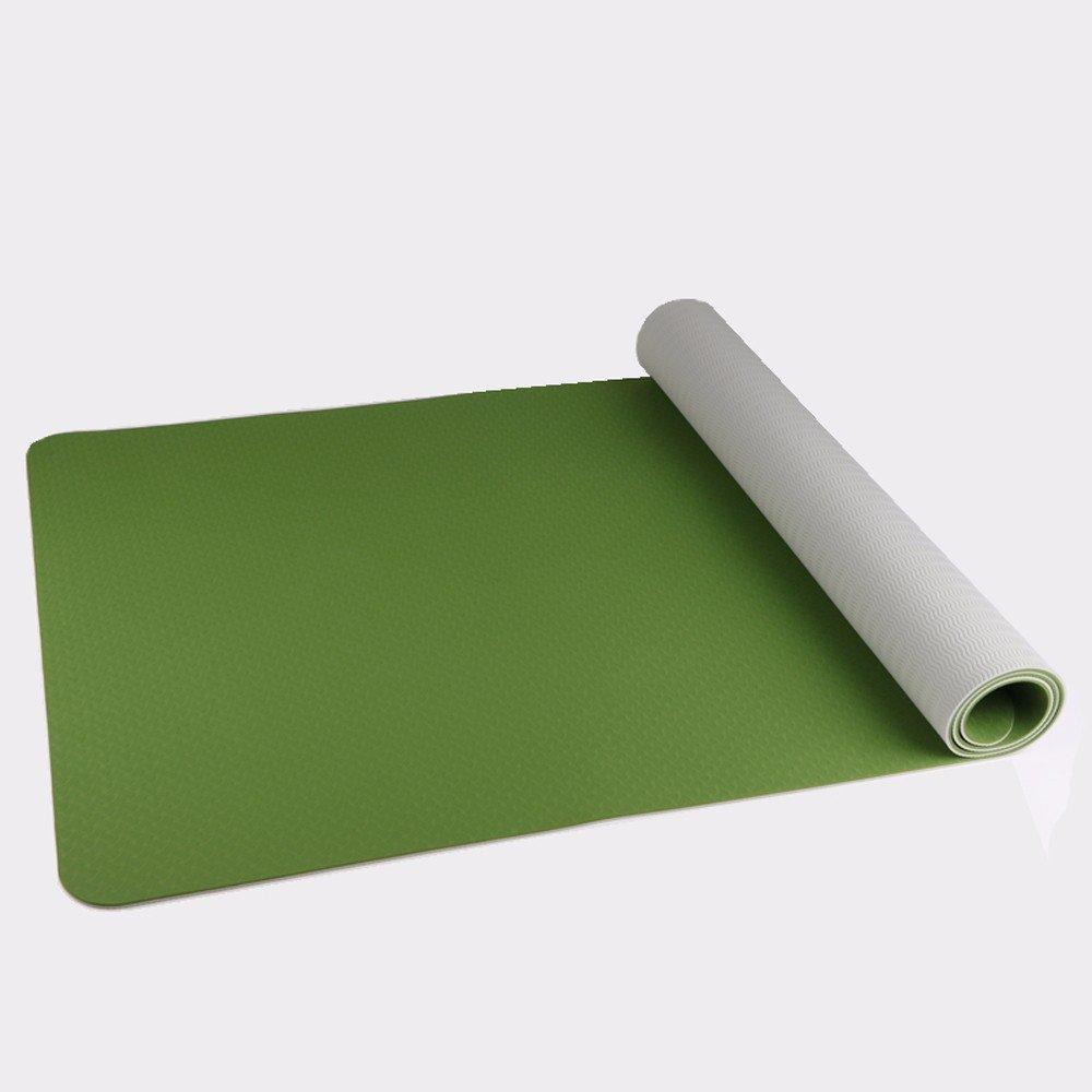 Inodoro de color dual-GTVERNH estera del yoga ampliar el ...