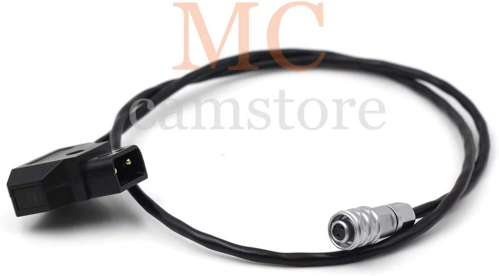 MCCAMSTORE 12V DC Power BMPCC 4K Power Cable for Blackmagic Pocket Cinema Camera 4K Spring Cable