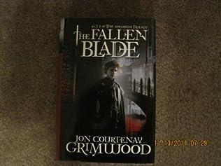 book cover of The Fallen Blade
