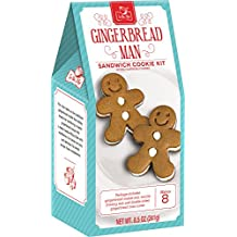 Crafty Cooking Kits Man Sandwich Cookie Kit, Gingerbread, 8.5 Ounce
