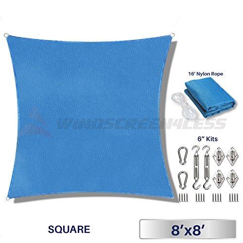 8' Square Sandbox Cover - 6