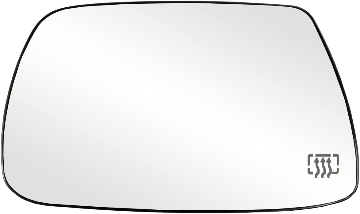 For Jeep Grand Cherokee 05-10 Driver Left Heated Plastic Backed Mirror Dorman