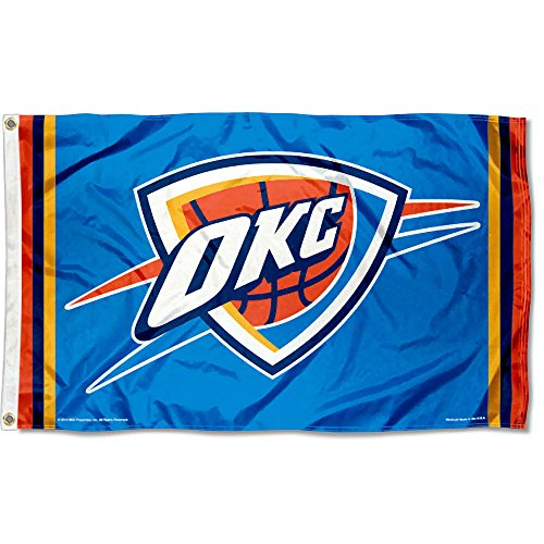 WinCraft NBA Oklahoma City Thunder Flag 3x5 Banner by WinCraft