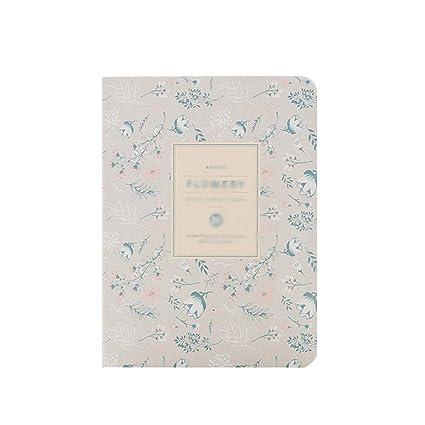 Cuaderno Agenda Floral de la Agenda del Calendario de la ...