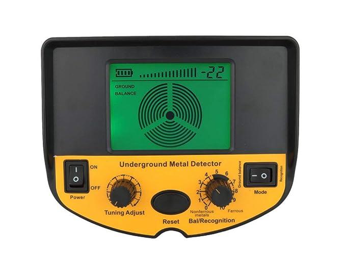 Barry Century AS924 - Detector de Metales (Profundidad subterránea, 2, 5 m), Color Dorado: Amazon.es: Jardín