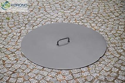Deckel für eine Feuerschale Ø 80 cm