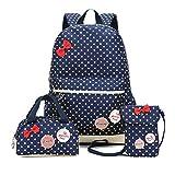 Cute Girl School Backpack, Set of 3, FEWOFJ - Best Reviews Guide