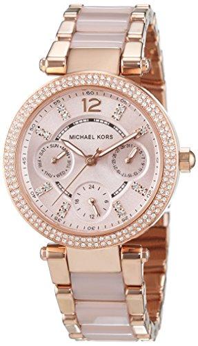 Michael Kors MK6110 – Reloj de pulsera Mujer, Acero inoxidable, color Rosa