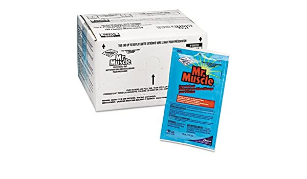 Amazon.com: Mr. Muscle Fryer Boil-Out, 2oz Packet, 36/Carton: Health & Personal Care