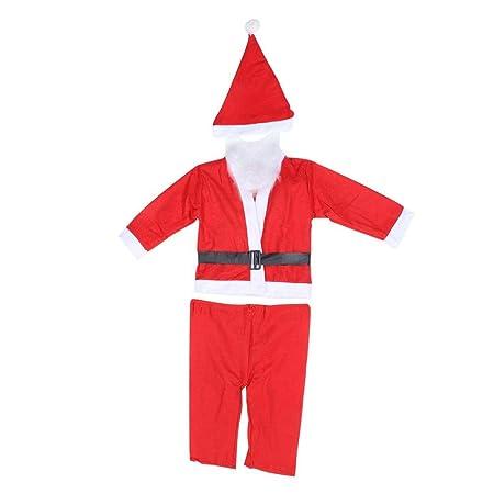 Duokon Disfraz de Papá Noel/Papá Noel para niños, Cosplay Santa ...