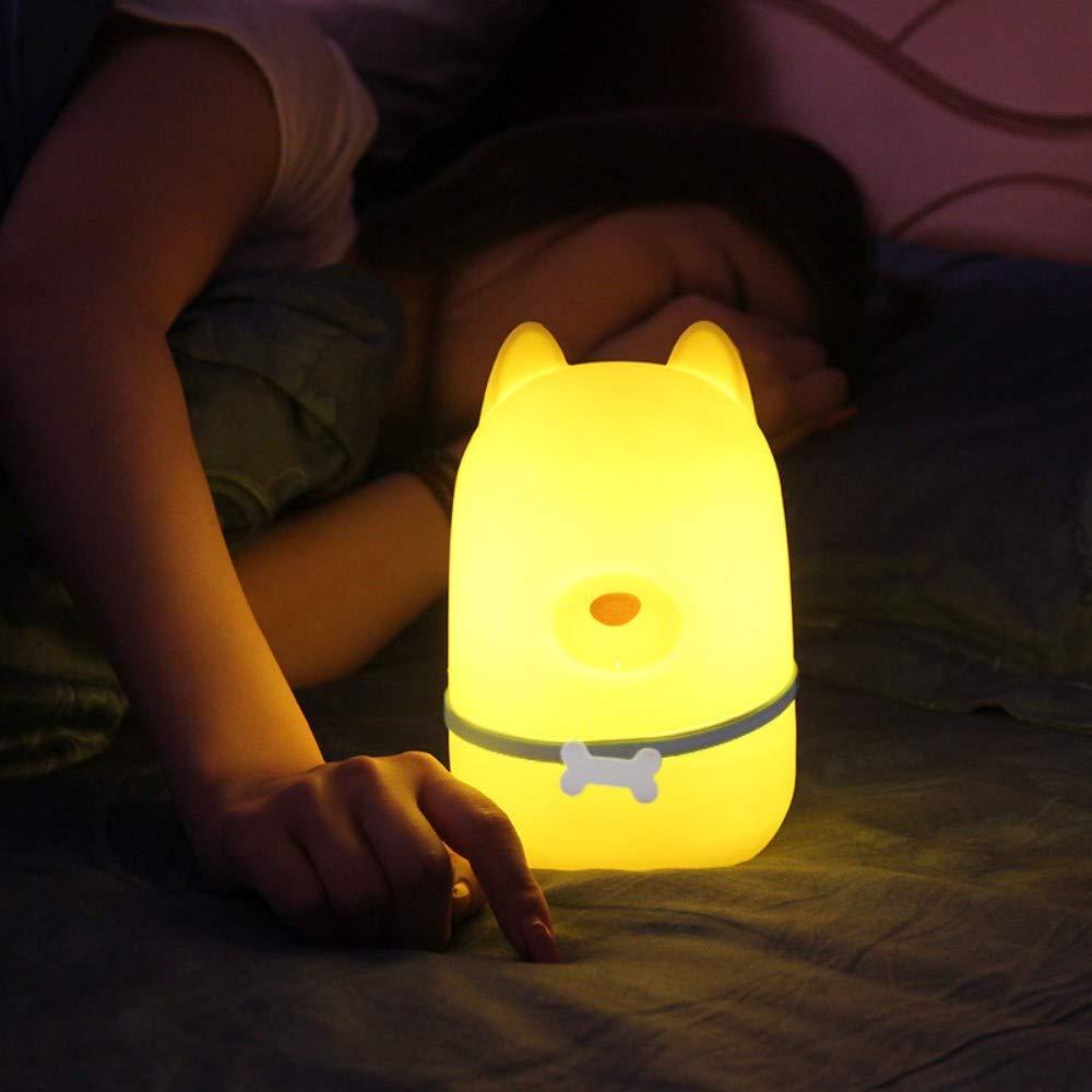 Velliceasay Nachtlicht Emotionale Begleiter Lampe Kinder Nacht Smart Schlaflicht Nachtlicht Dekoration Lampe Romantische Dekoration Geschenk