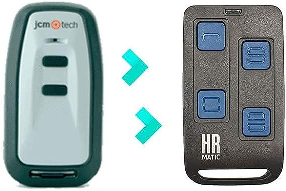 Mando de Garaje Universal HR MULTI 2 compatible REMOCON RMC610