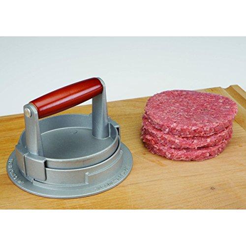 Adjustable Depth Hamburger Patties Maker Quick & Easy Hamburger Press Kitchen Meat Tenderizer Cutlet Machine Chef Best (Adjustable Hamburger Press)